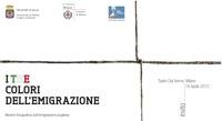 Immagine associata al documento: Puglia, terra di partenza e approdo - Milano, 16 aprile 2012