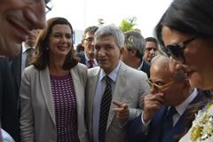 Immagine associata al documento: Boldrini in Fiera del Levante alla Regione per firma protocollo Formedil