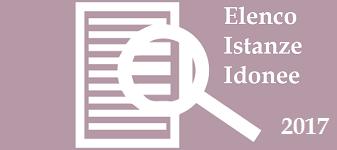 Immagine associata al documento: Elenco Istanze idonee ammesse al contributo - 2017