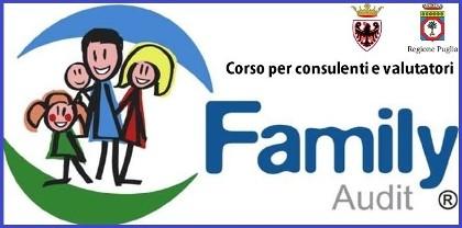 Immagine associata al documento: Al via il corso Corso per consulenti e valutatori Family Audit promosso dalla Regione Puglia