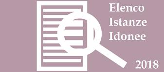 Immagine associata al documento: Elenco Istanze idonee ammesse al contributo - 2018