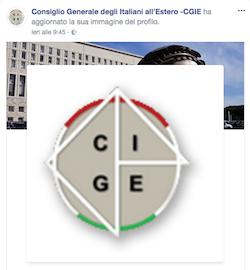 Immagine associata al documento: Il Consiglio Generale degli Italiani all'Estero sbarca sui social