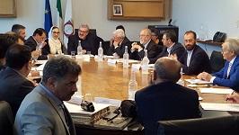 Immagine associata al documento: Emiliano incontra delegazione iraniana della regione di Hormozgan