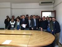 """Immagine associata al documento: Parte da Lecce il tour """"diritto allo studio"""" dell'assessore Sebastiano Leo"""