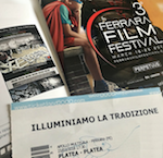 Immagine associata al documento: Le luminarie molfettesi al Ferrara Film Festival