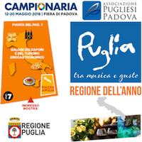 Immagine associata al documento: Puglia regione dell'anno alla Campionaria 2018 - Padova, 12/20 maggio