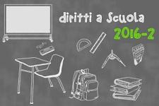 Immagine associata al documento: Diritti a Scuola 2016-2: Scorrimento Graduatoria