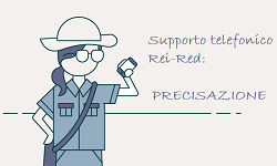 Immagine associata al documento: Supporto Telefonico Rei Red: precisazione
