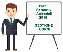 Immagine associata al documento: Iter Procedurale - Gestione Corsi Piani Formativi Aziendali 2016