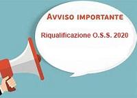 Immagine associata al documento: Avviso n. 4/FSE/2020 Riqualificazione O.S.S.: comunicazione importante per i lavoratori