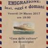 Immagine associata al documento: Emigrazione: ieri, oggi e domani - Mola di Bari, 24 marzo