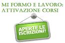 Immagine associata al documento: Mi Formo e Lavoro: Attivazione servizio Iscrizione Corsi per i cittadini