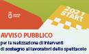 Immagine associata al documento: Avviso START 2021 - Istanze Ammesse, da Integrare e Non Ammesse - aggiornamento al 06/08/2021
