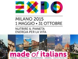 TORNA A CASA, IN ITALIA, CON EXPO MILANO 2015