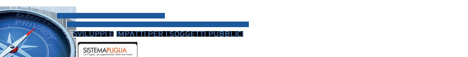 Pagina Convegno Privacy - Sistema Puglia